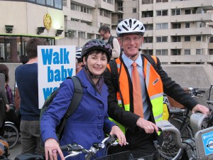 Caroline Pidgeon & Brian Paddick want to promote cycling in London